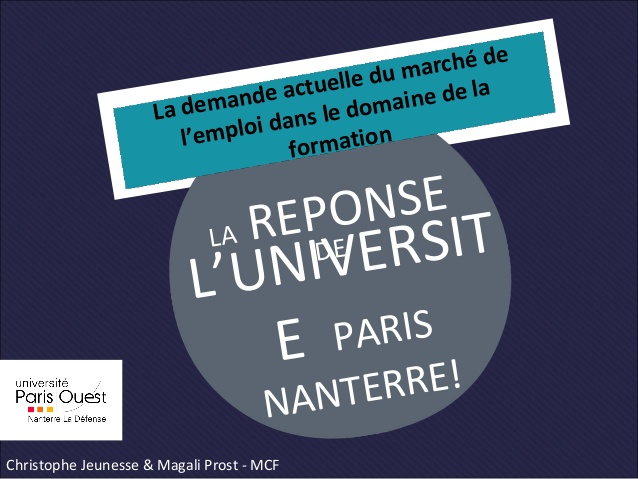 formation a distance nanterre