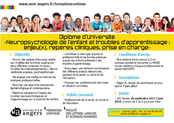 formation a distance neuropsychologie