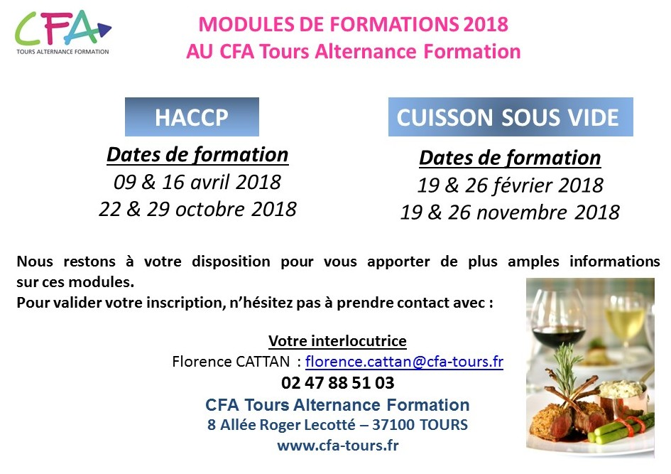 formation adulte tours
