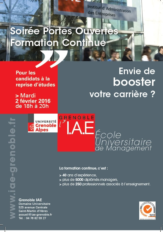 formation continue grenoble