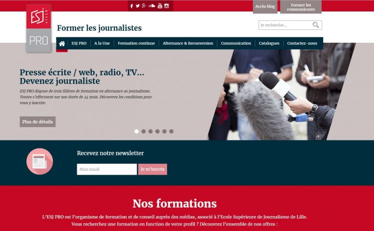 formation continue journalisme web