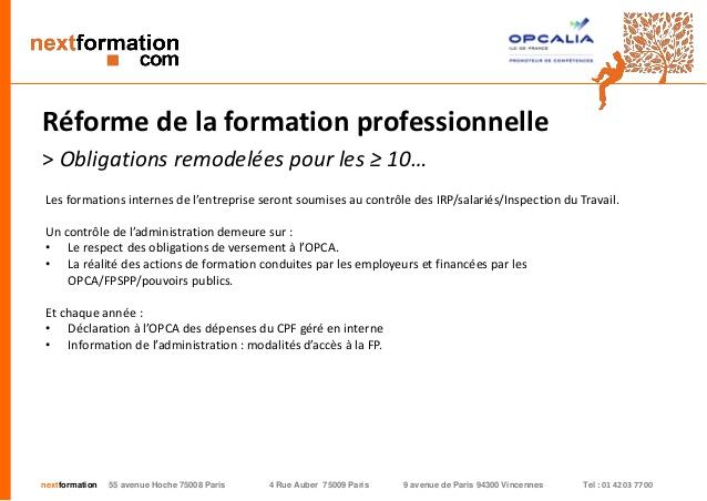 formation continue paris 9
