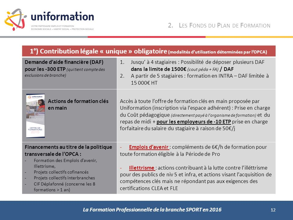 formation continue qui paye