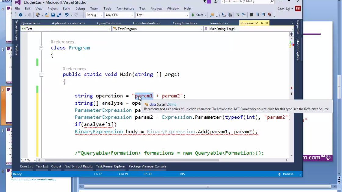 formation en ligne visual studio