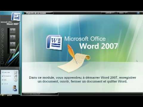 formation en ligne word et excel